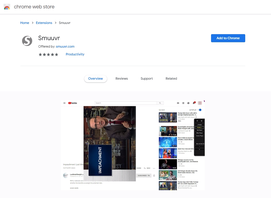 Smuuvr Version 1.8.0 Released – Major Updates and Improvements – Now Available in Chrome Extensions Store (free)